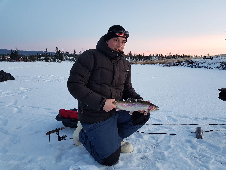 Tunkwa lake ice fishing december 10 2017 always learning for Ice fishing 2017