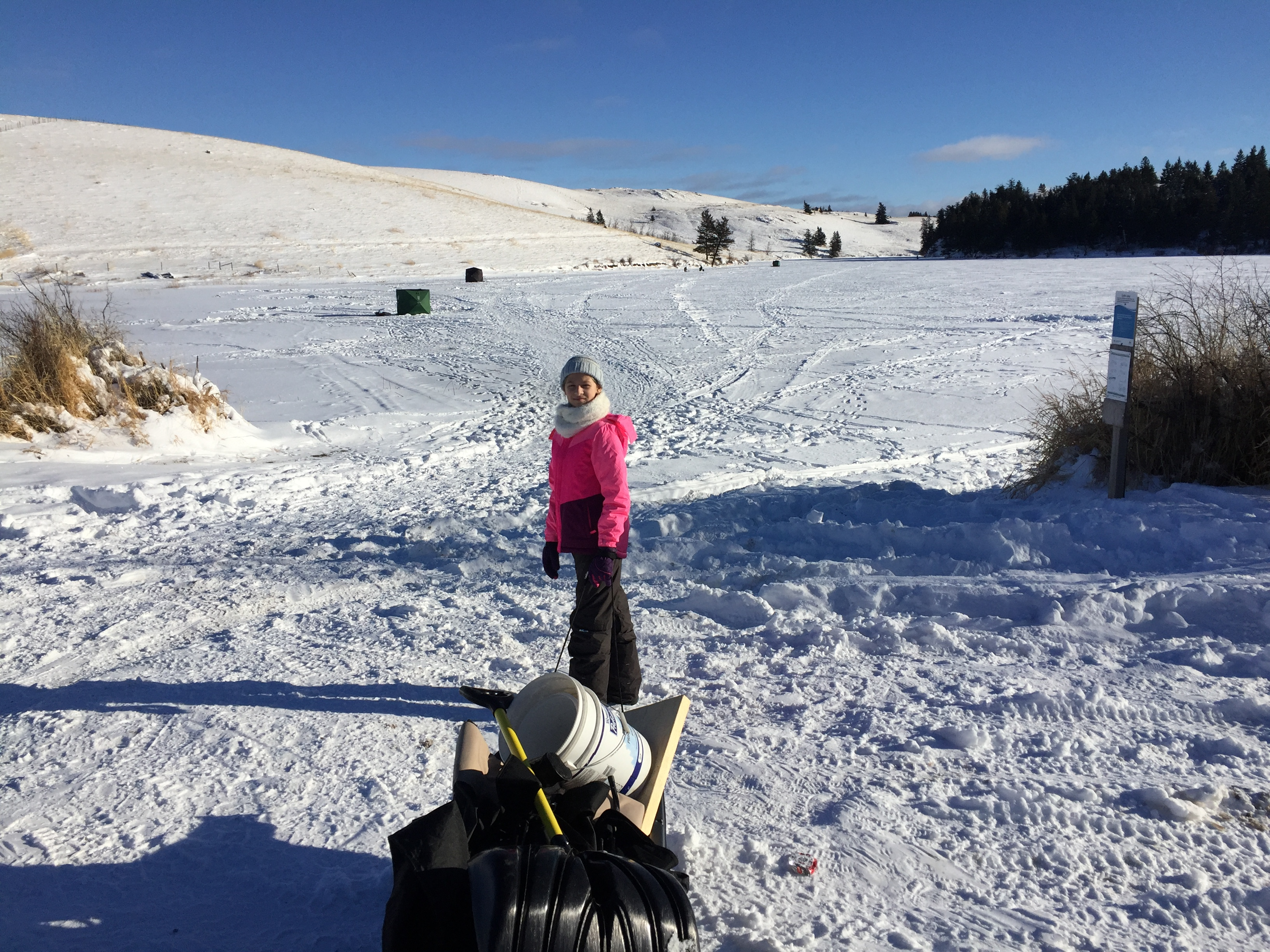 Edith lake ice fishing december 23 2017 always learning for Ice fishing 2017